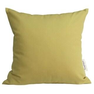 Deep Yellow Cotton Linen Pillowcase