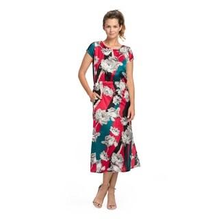 Bluberry Women's Lottie Floral Long Dress