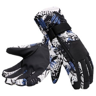 Men's Camouflage Ski Thinsulate Lined Winter Gloves