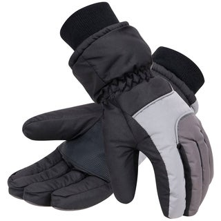 Men's Thinsulate Lined Lined Waterproof Ski Gloves