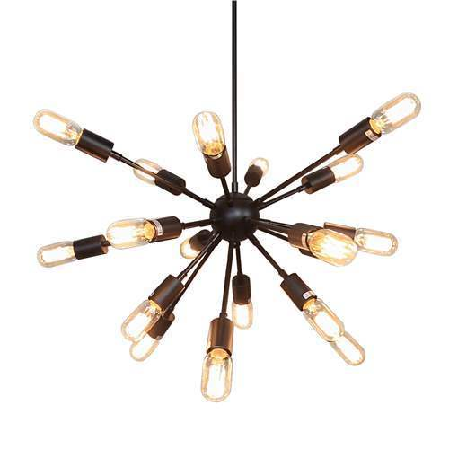 LNC Sputnik Chandeliers Steampunk Pendant Lighting 18-Light Chandelier Lighting