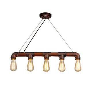 Shop LNC Pipe Pendant Lighting Industrial Kitchen Island ...