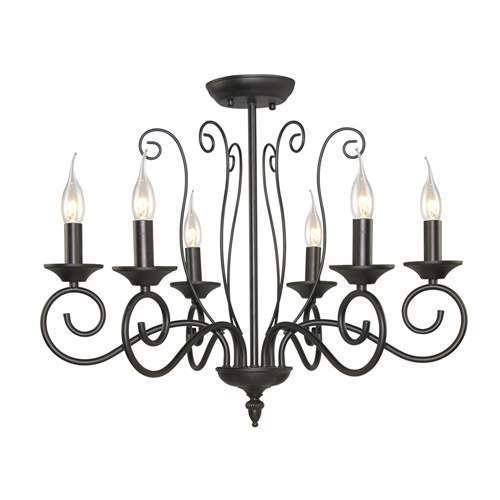 LNC Small Traditional Chandeliers 6-light Pendant Lighting