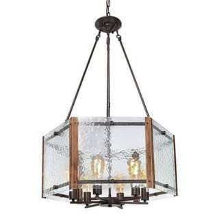 LNC 6-Light Rustic Foyer Pendant Lighting Chandeliers