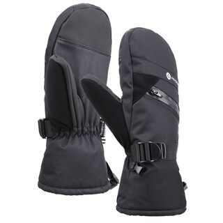 Men Cross Country Textured Touchscreen Snowboarding Ski Mitten (2 options available)