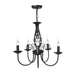 LNC Small Antique Chandeliers 5-light Pendant Lighting