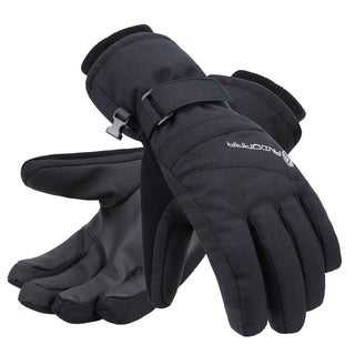 Women's Zippered Pocket Touchscreen Ski Snowboard Gloves (2 options available)