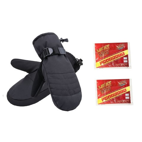 Men's Alpine Ski Mittens with Handwarmer Pocket