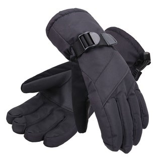 Men's Abstract Deluxe Touchscreen Sport Ski Gloves