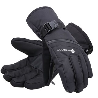 Men's Cross Country Textured Touchscreen Ski Glove with Zippered