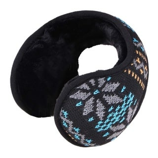 Winter Earmuffs Sherpa Fleece Lined Foldable Winter Outdoor Ear Warmer