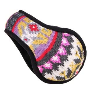 Winter Earmuffs Sherpa Fleece Lined Foldable Winter Outdoor Ear Warmer