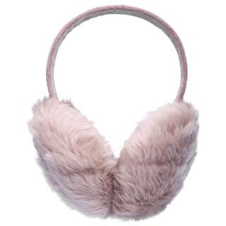 Womens Warm Furry Folding Winter Ear Muffs Ear Warmers