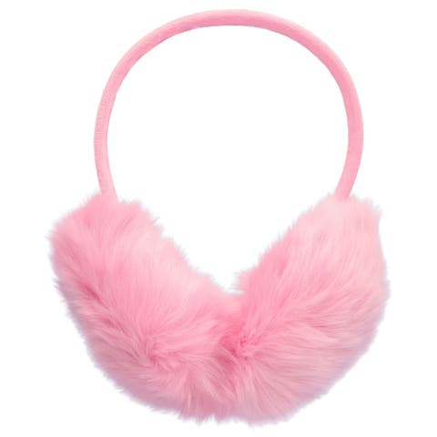 Womens Warm Furry Folding Winter Ear Muffs Ear Warmers
