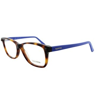 Valentino Rectangle V2694 219 Women Havana Blue Frame Eyeglasses