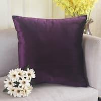 Polyester Pillow Case Eggplant 18 x 18