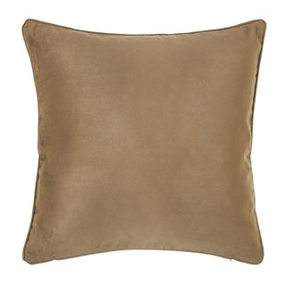 Polyester Light Brown 18-inch Pillowcase