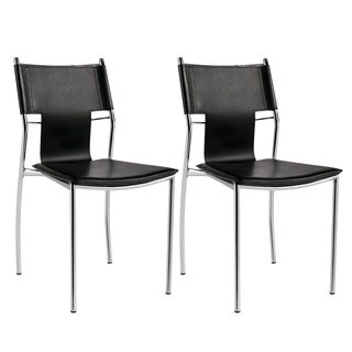 Porthos Home Contemporary Style Lightweight Stackable Chair(Set of 2)