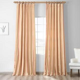 Exclusive Fabrics Oakmere Luxury Faux Silk Stripe Curtain