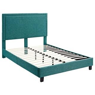 Erica Upholstered Queen Platform Bed