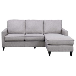 Ordinaire Picket House Furnishings Nori Reversible Chaise Sectional In Grey