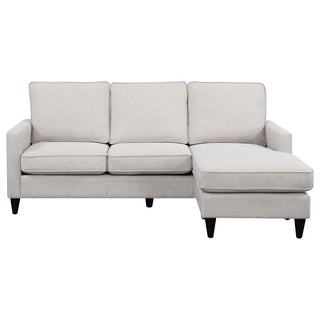 Shop Lyke Home Opal Reversible Taupe Sectional Free