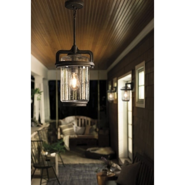 Shop Kichler Lighting Andover Collection 1 Light Weathered