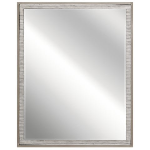 Kichler Lighting Millwright Collection Rubbed Gray Wall Mirror - rubbed gray
