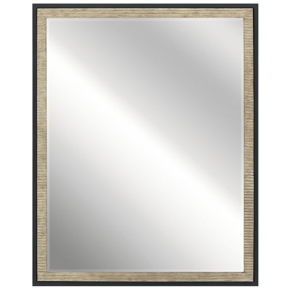 Kichler Lighting Millwright Collection Distressed Antique Gray Wall Mirror - distressed antique gray - A/N. Opens flyout.