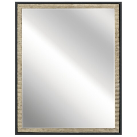 Kichler Lighting Millwright Collection Distressed Antique Gray Wall Mirror - distressed antique gray