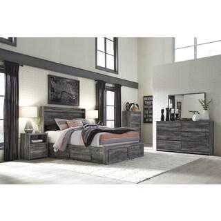 Ashley Baystorm Grey Wood 6-drawer Dresser