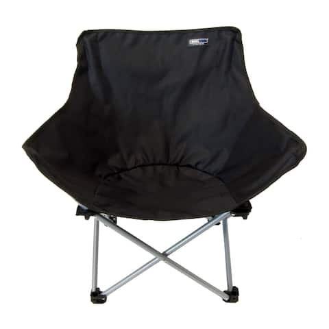 ABC Folding Camping Chair - Black