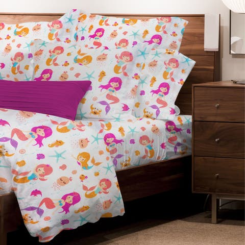 Mermaid sheet sets