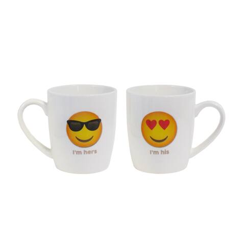 "His/Her Set of 2 Mugs 15oz ""I'm His, I'm hers"""