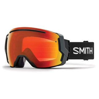 Smith Optics I/O 7 Snow Goggles - IE7CPEBK18 - Black/ChromaPop Everyday Red Mirror