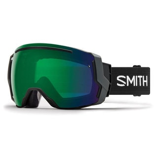Smith Optics I/O 7 Snow Goggles - IE7CPGBK18 - Black/ChromaPop Everyday Green Mirror
