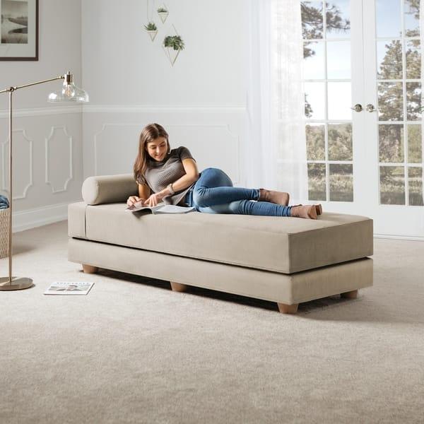 Fine Shop Jaxx Artemis Daybed Queen Size Convertible Sleeper On Alphanode Cool Chair Designs And Ideas Alphanodeonline