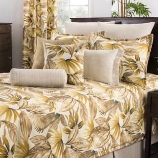 Tahiti Brown Tropical Comforter Set