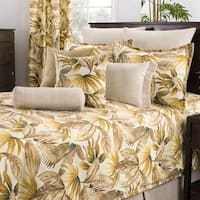 Tahiti Brown Tropical Comforter Set