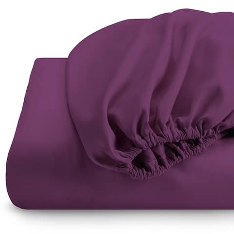 Bare Home Deep Pocket Fitted Sheet & Pillowcase Set, Hypoallergenic