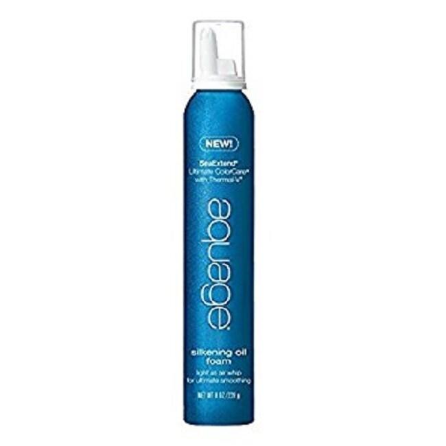 AQUAGE Sea (Blue) Extend 8-ounce Silkening Oil Foam