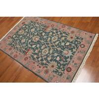Nourison Nourmak Soumak Reversible Pure Wool Area Rug (5'2 x8'2)