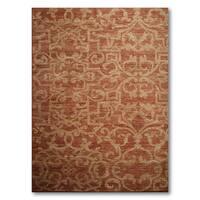 "Pure Wool Karastan Woven Oriental Area Rug (8'6""x11'6"")"