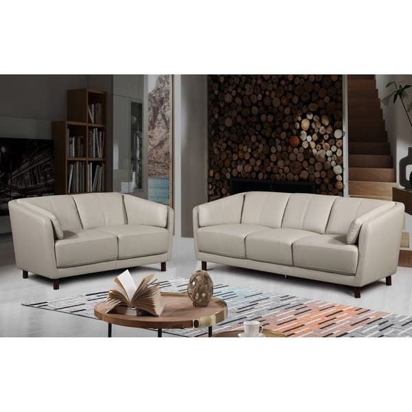 Strange Shop Vivian Mid Century Air Leather Fabric Sofa Set Free Inzonedesignstudio Interior Chair Design Inzonedesignstudiocom