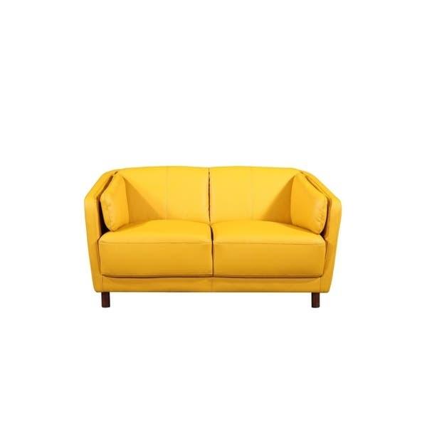 Pleasant Shop Vivian Mid Century Air Leather Fabric Sofa Set Free Inzonedesignstudio Interior Chair Design Inzonedesignstudiocom