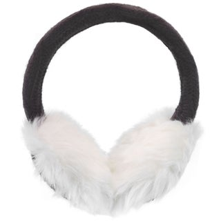 Women's Winter Knitted Faux Fur Plush Earmuffs