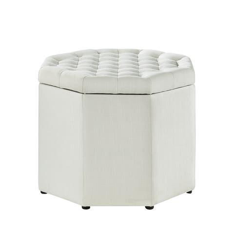 Buy White Ottomans Storage Ottomans Online At Overstock Our Best