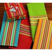 Cantina Stripes Dishtowels Set of 4