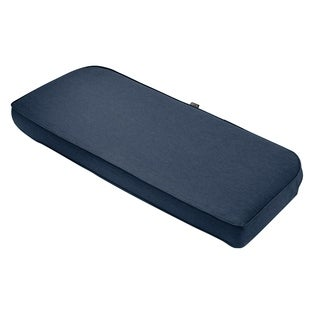 "Montlake FadeSafe Patio Bench/Settee Back Cushion-18""Lx41""Wx3""H"
