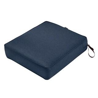 "Montlake FadeSafe Rec Patio Lounge Seat Cushion -27""Lx25""Wx5""H"